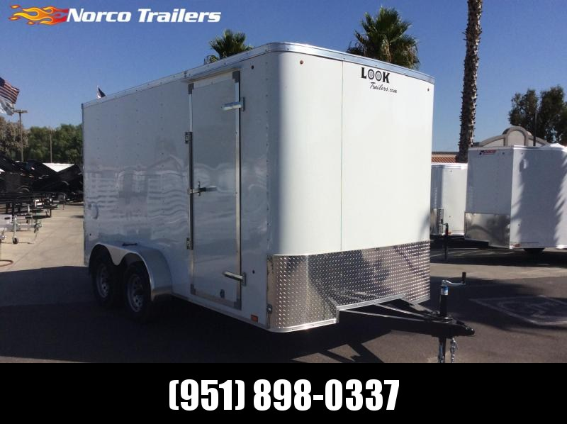 2020 Look Trailers STLC 7 x 14 Tandem Axle Enclosed Cargo Trailer