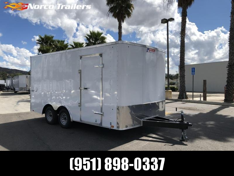 2021 Pace American Outback 8.5' x 16' Tandem Axle Car / Racing Trailer