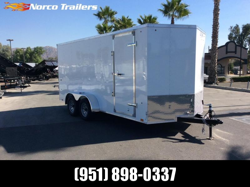 2019 Look Trailers STVLC 7' x 16' Tandem Axle Enclosed Cargo Trailer