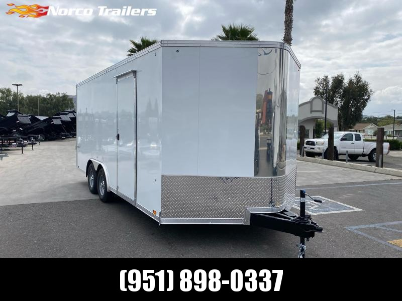 2021 Pace American Cargo Sport 8.5' x 18' Tandem Axle Car / Racing Trailer