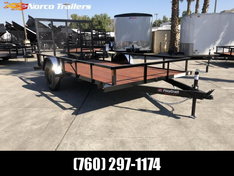 "2020 Sun Country Playcraft 77"" x 12' Single Axle Utility Trailer"