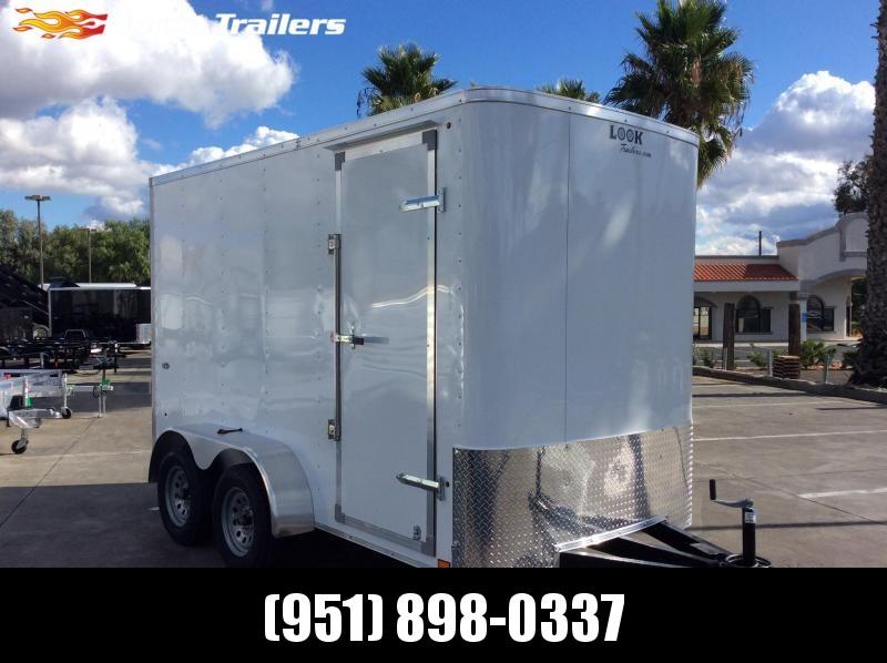 2020 Look Trailers STLC 6 x 12 Tandem Axle Enclosed Cargo Trailer