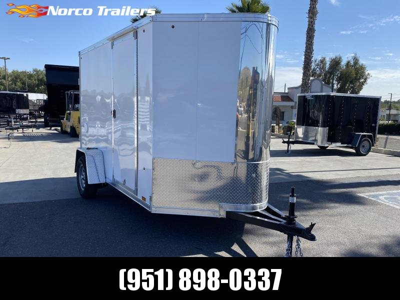 2021 Look Trailers Vision 6' x 10' Single Axle Enclosed Cargo Trailer