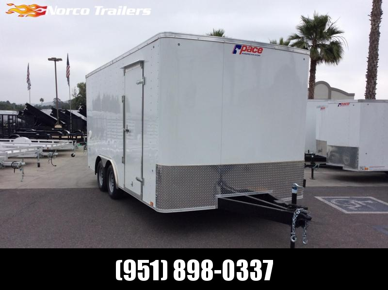 2019 Pace American Outback 8.5 x 16 Tandem Axle Car / Racing Trailer