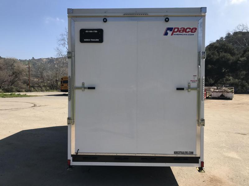 2019 Pace American Cargo Sport 7' x 16'  7K Enclosed Cargo Trailer