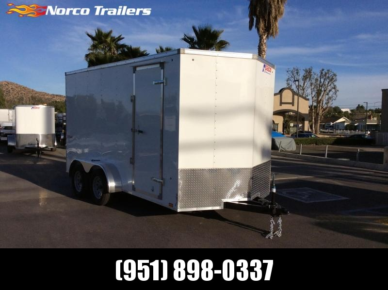 2019 Pace American Outback Vnose 7' x 14' Enclosed Cargo Trailer