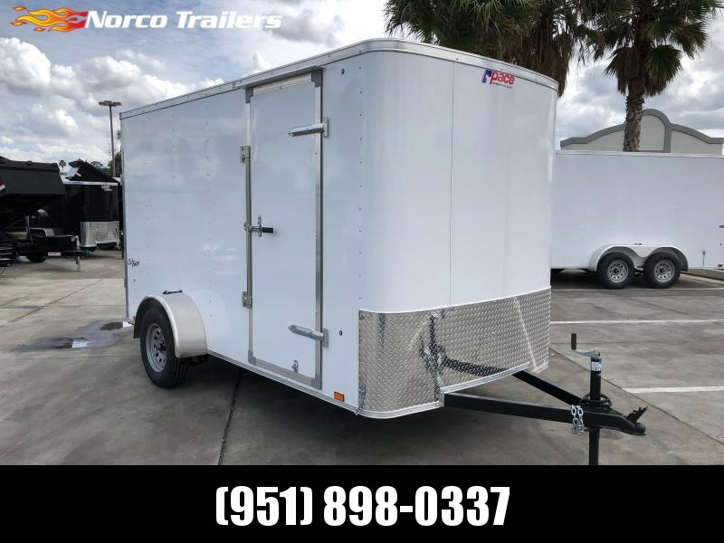 2021 Pace American OB 6' x 12' Single Axle Enclosed Cargo Trailer