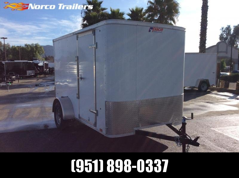 2020 Pace American Outback 6 x 10 Single Axle Enclosed Cargo Trailer