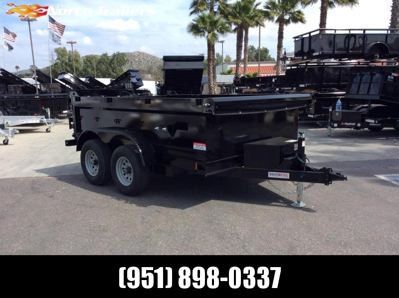 "2019 Innovative Trailer Mfg. 83"" x 10' Dump Trailer"