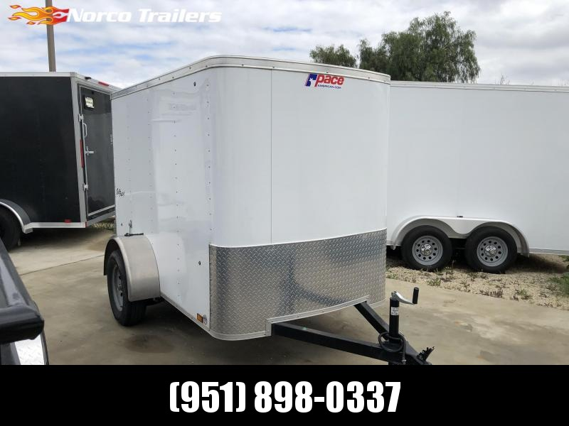 2018 Pace American Outback 5' x 8' Single Axle Enclosed Cargo Trailer