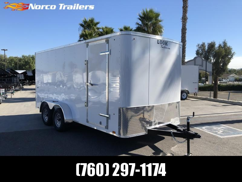 2021 Look Trailers STLC 7' X 16' Tandem Axle Enclosed Cargo Trailer