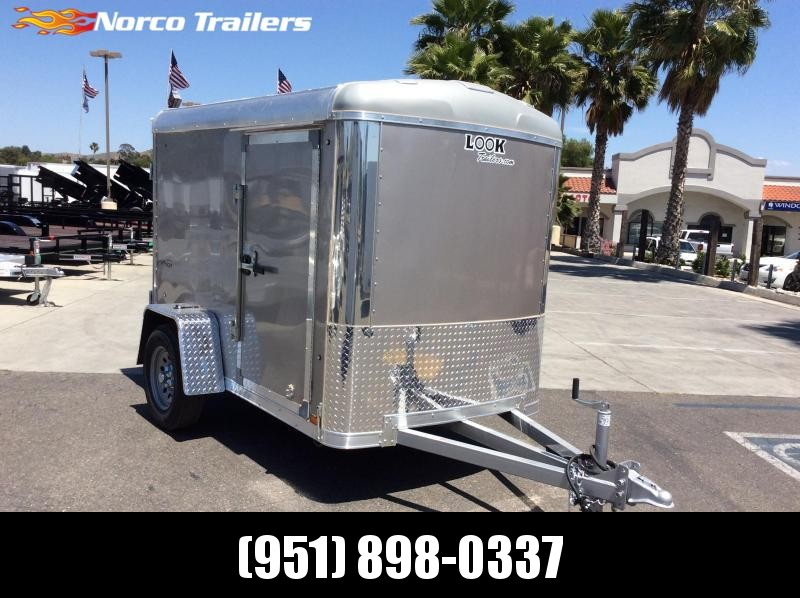 2021 Look Trailers Vision 5' x 8' Enclosed Cargo Trailer