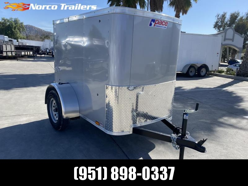 2021 Pace American Outback 4' x 6' Single Axle Enclosed Cargo Trailer