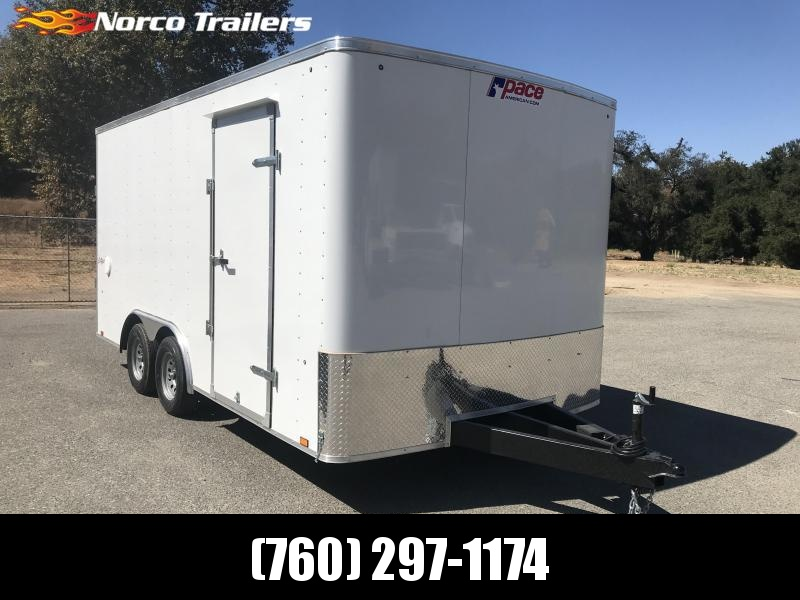 2020 Pace American Outback 8.5' x 16' 7K Auto Car / Racing Trailer