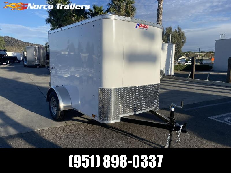 2021 Pace American Outback 5' x 8' Single Axle Enclosed Cargo Trailer