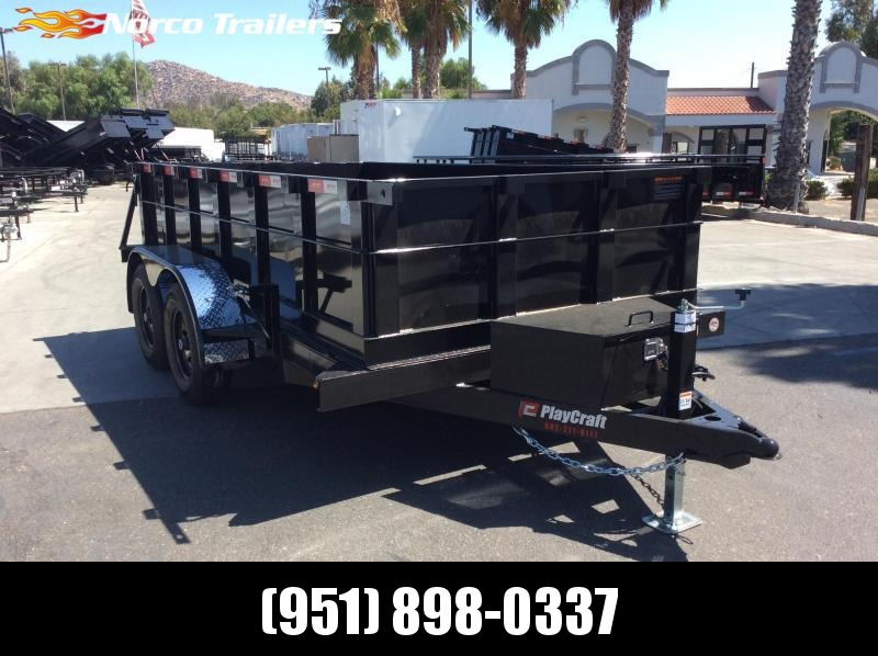 2020 Sun Country 6' x 12' Tandem Axle Dump Trailer