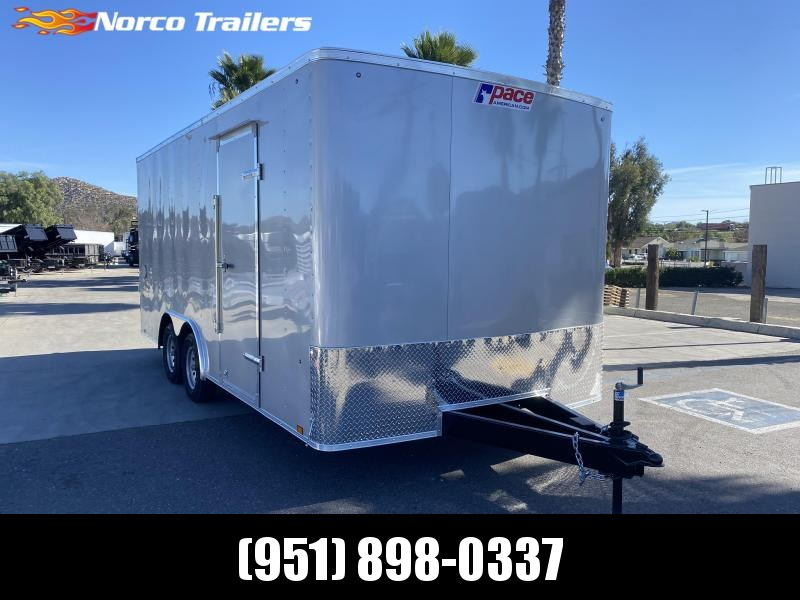 2021 Pace American Outback 8.5' x 18' Enclosed Car Trailer