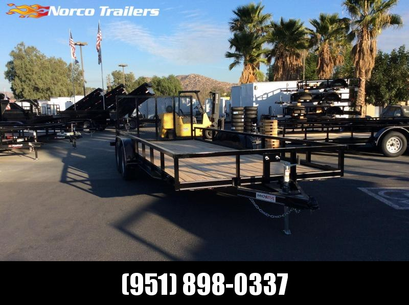 "2018 Innovative Trailer Mfg. 83"" x 20' Standard Tandem Utility Trailer"