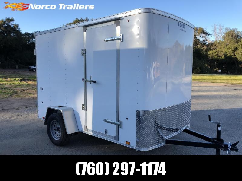 2019 Look Trailers STLC 6' x 10' Single Axle Enclosed Cargo Trailer