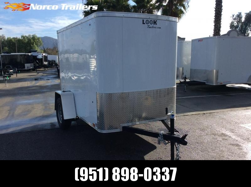 2020 Look Trailers STLC 5' x 8' Single Axle Enclosed Cargo Trailer