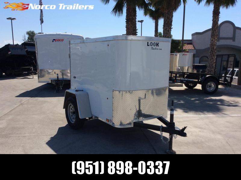 2020 Look Trailers STLC 4' x 6' Single Axle Enclosed Cargo Trailer