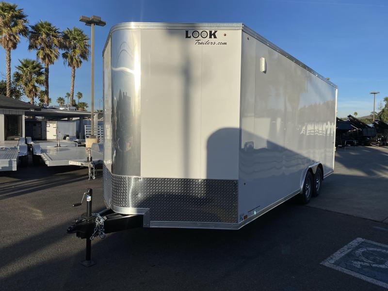 2021 Look Trailers Vision 8.5' x 20' Tandem Axle Car / Racing Trailer