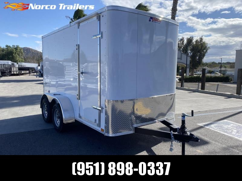 2021 Pace American Outback 6' x 12' Tandem Axle Enclosed Cargo Trailer