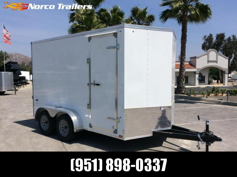2019 Look Trailers STVLC 7' x 12' Tandem Axle Enclosed Cargo Trailer