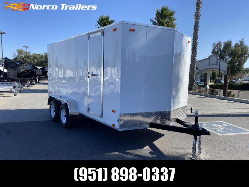 2021 Look Trailers Equinox 7' x 14' Tandem Axle Enclosed Cargo Trailer