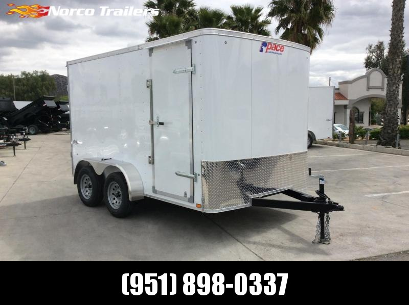 2021 Pace American Outback 7' x 12' Tandem Axle Enclosed Cargo Trailer