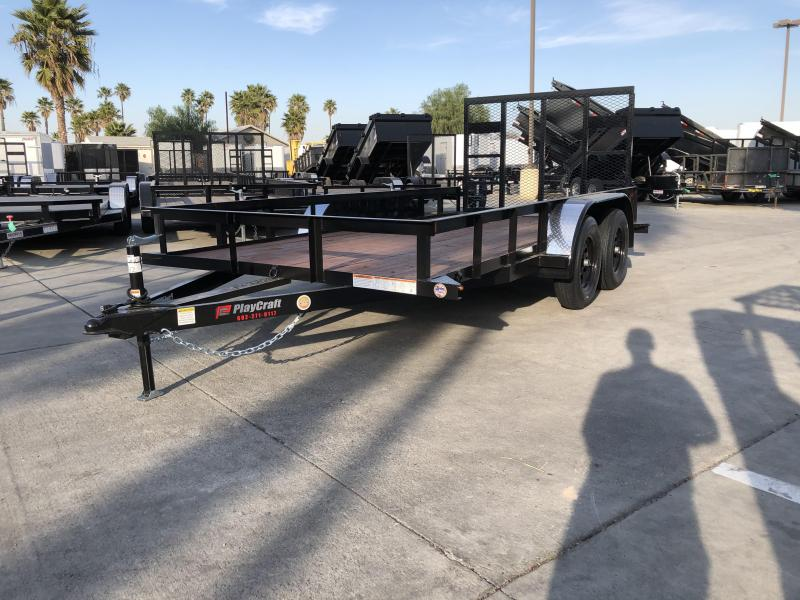 "2020 Sun Country Playcraft 77"" x 14' Tandem Axle Utility Trailer"