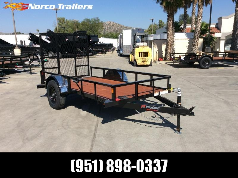 2020 Playcraft 5' x 10' Single Axle Utility Trailer