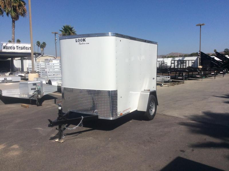 2020 Look Trailers STLC 5 x 8 Single Axle Enclosed Cargo Trailer