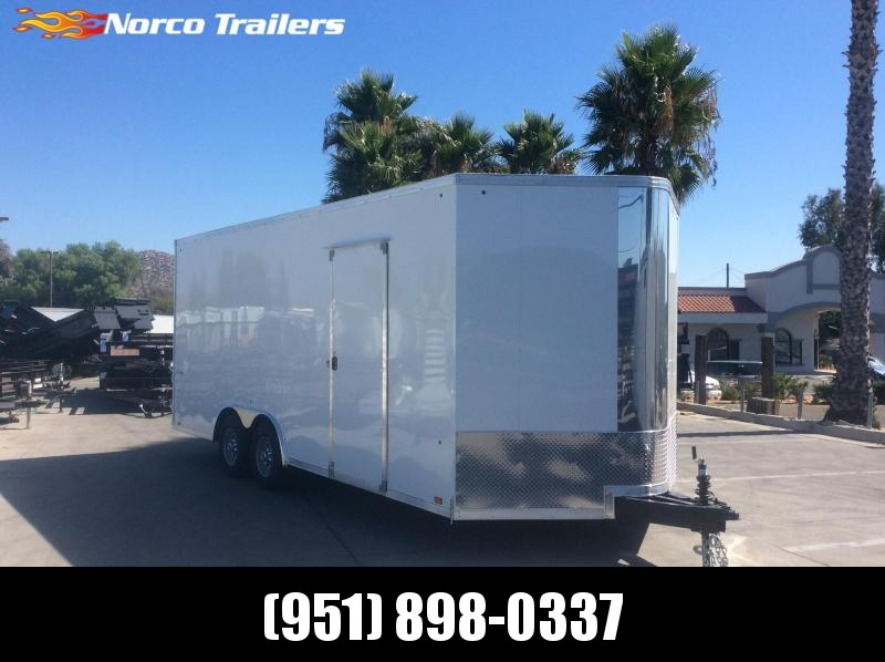 2020 Look Trailers Vision 8.5 x 20 Tandem Axle Car / Racing Trailer