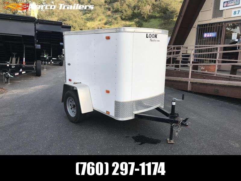 2018 Look Trailers STLC 4' x 6' Enclosed Cargo Trailer