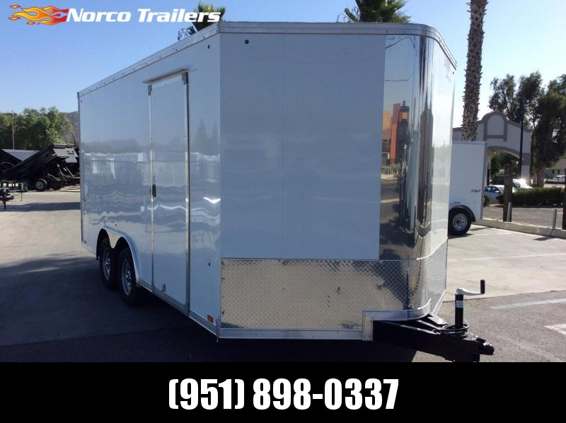 2020 Look Trailers Vision 8.5' x 16' Tandem Axle Car / Racing Trailer