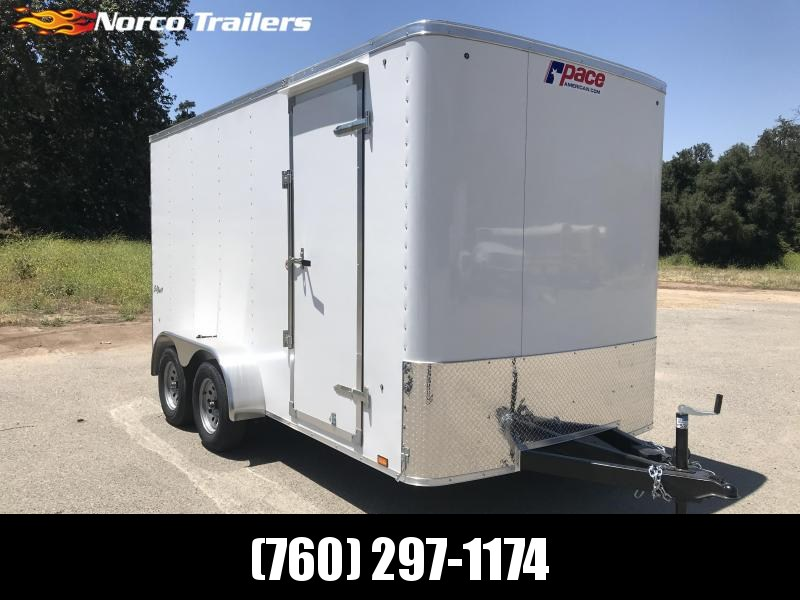 2020 Pace American Outback 7' x 14' Enclosed Cargo Trailer