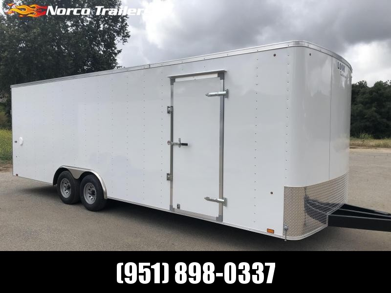 2019 Look Trailers ST 8.5' x 24' 10K Car / Racing Trailer