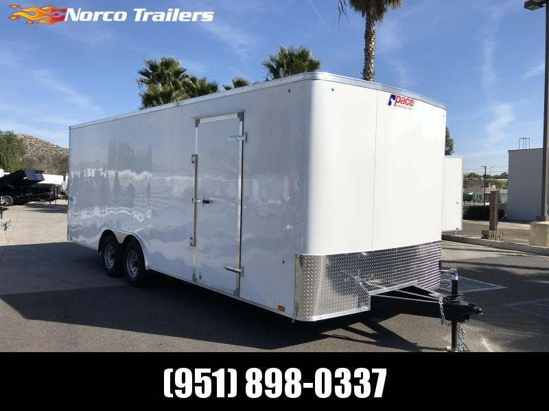 2021 Pace American Outback 8.5' x 22' Tandem Axle Car / Racing Trailer