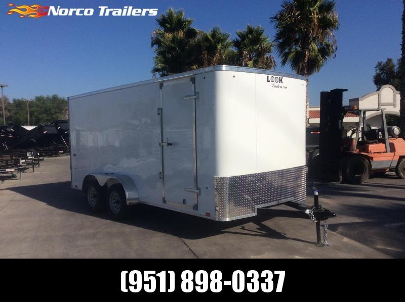 2020 Look Trailers STLC 7 x 16 Tandem Axle Enclosed Cargo Trailer