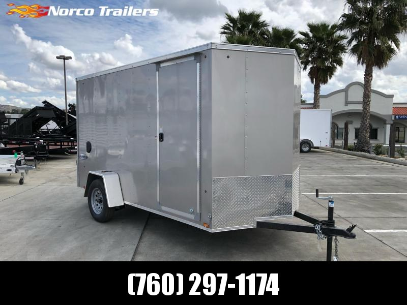 2021 Look Trailers Element 6' x 12' Single Axle Enclosed Cargo Trailer