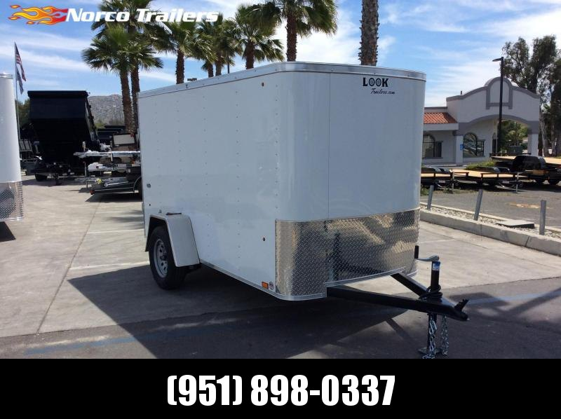 2019 Look Trailers STLC 5 X 10 Single axle Enclosed Cargo Trailer