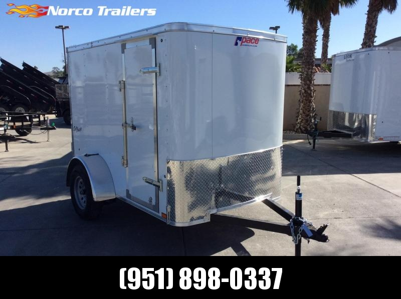 2020 Pace American Outback 5' x 8' Single Axle Enclosed Cargo Trailer