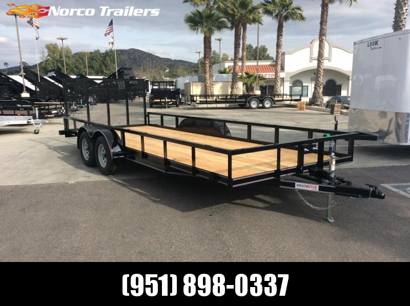 "2019 Innovative Trailer Mfg. 83"" x 20' Tube Top Utility Trailer"