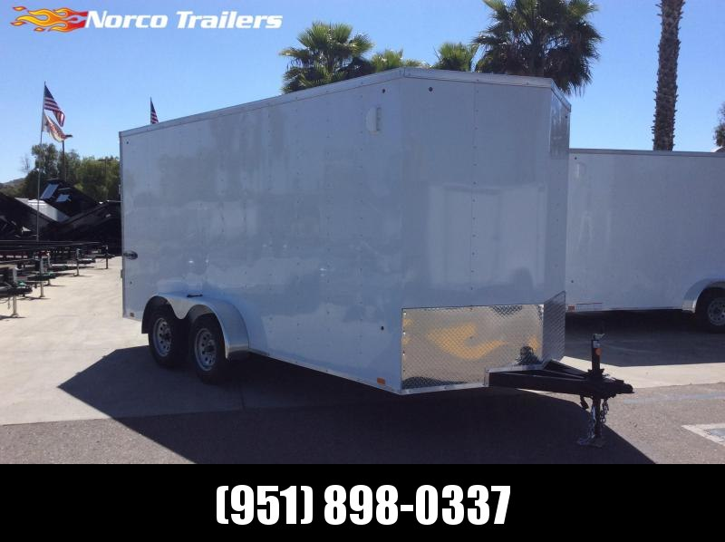 2021 Look Trailers Element 7' x 16' Tandem Axle Enclosed Cargo Trailer