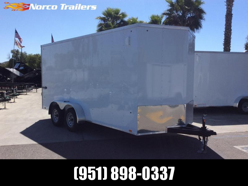 2021 Look Trailers Element 7' x 16' Tandem Axle Enclosed Cargo Trailer