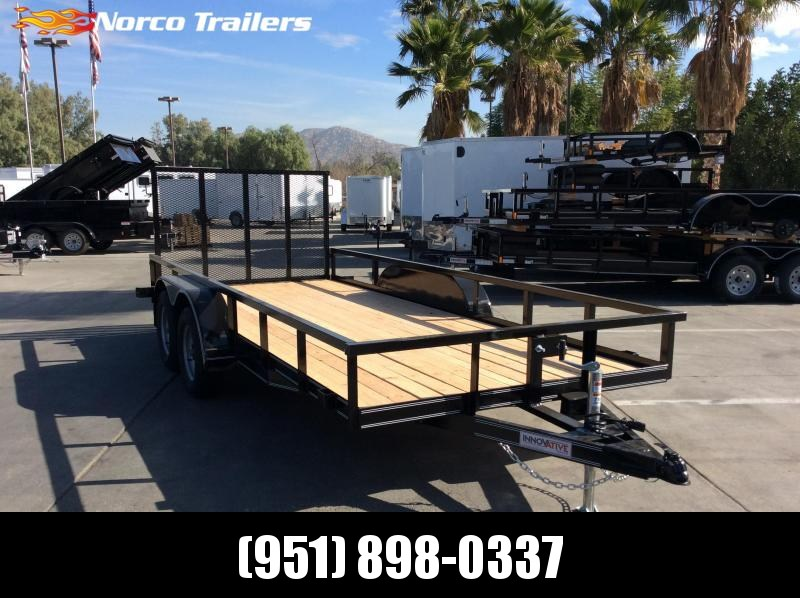 "2018 Innovative Trailer Mfg. 77"" x 16' Standard Tandem Utility Trailer"