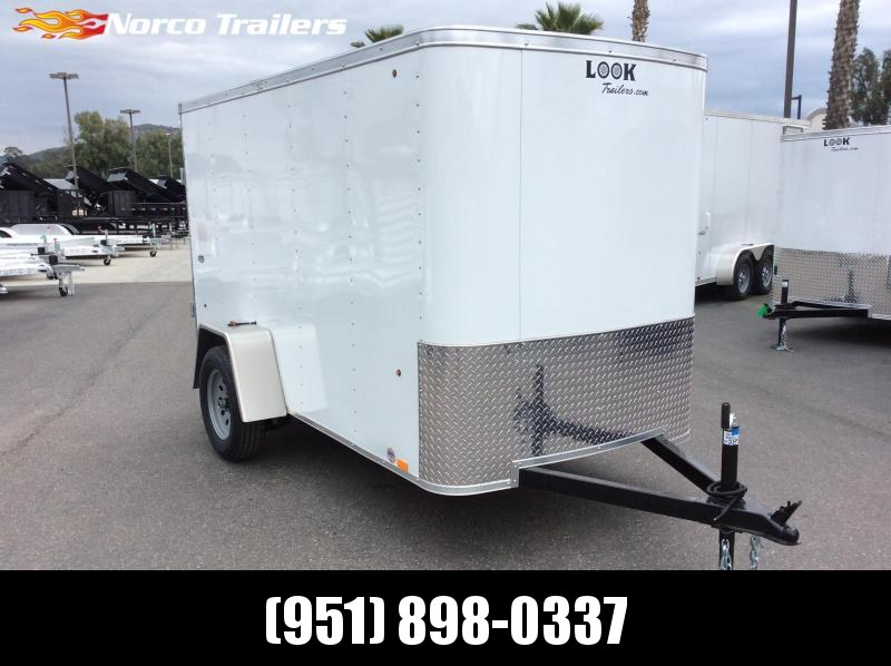 2019 Look Trailers STLC 5' x 10' Single Axle Enclosed Cargo Trailer