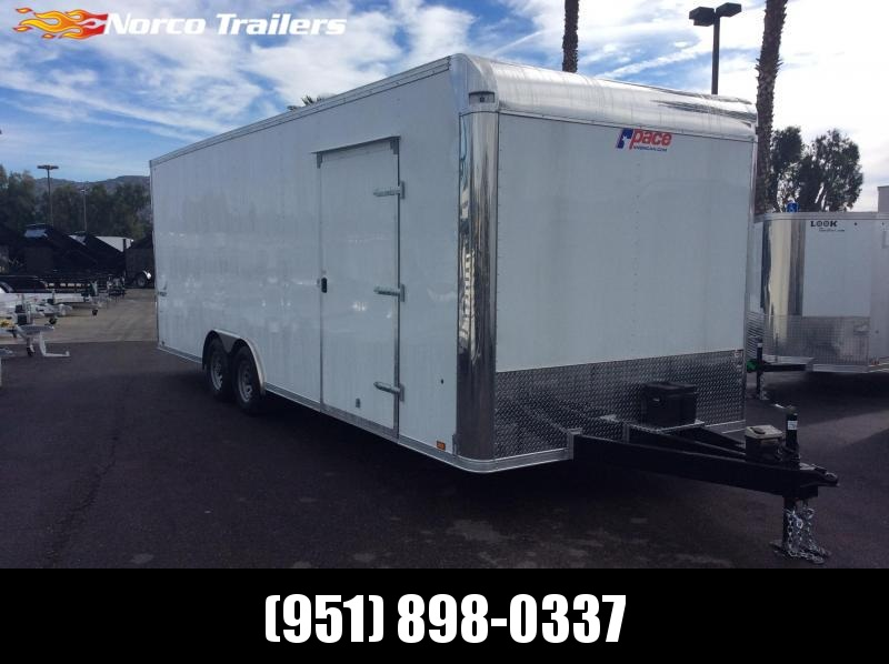 2019 Pace American Pursuit 8.5' x 24' Tandem Axle Car / Racing Trailer