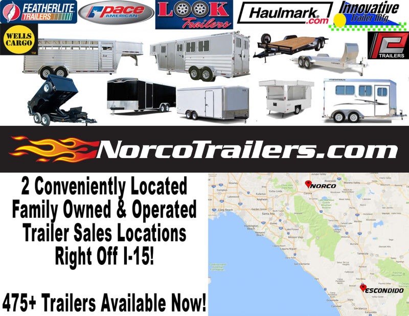 2020 Look Trailers ST 8.5 x 18 Tandem Axle Car / Racing Trailer